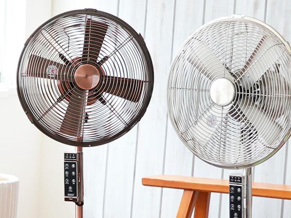 LIFULLインテリアのリモコン付き扇風機
