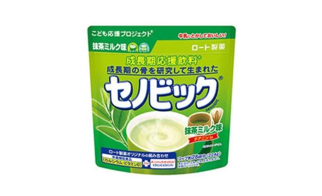 セノビック抹茶ミルク味