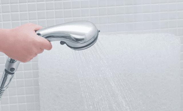 ブレインスリープピローはシャワーで水洗いできる