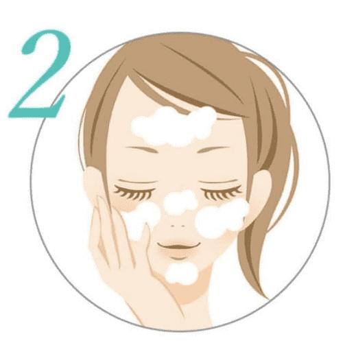 ミナル薬用アクネジェルの顔全体のケア方法