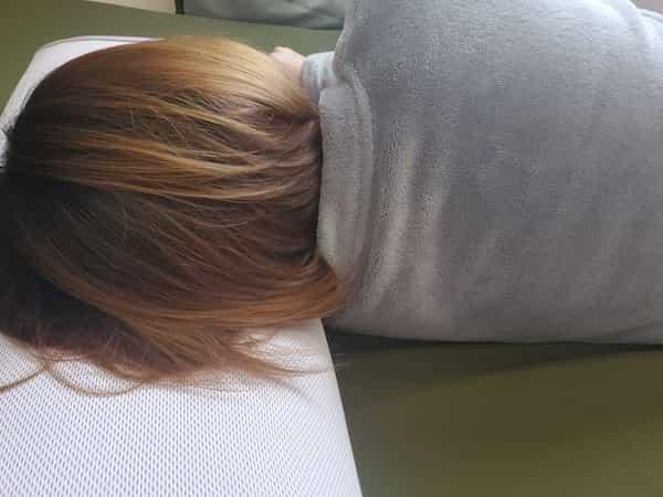 スリープマージピローの寝心地をレビュー2