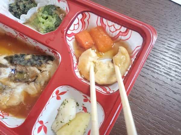 メディカルフードサービスやわらか食は箸で食べるのが困難